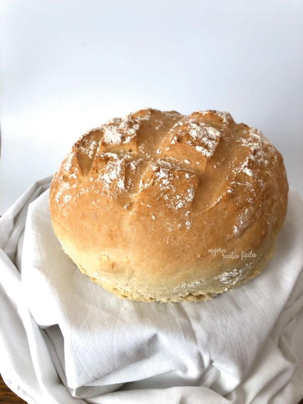 mejores recetas fáciles de hogazas de pan