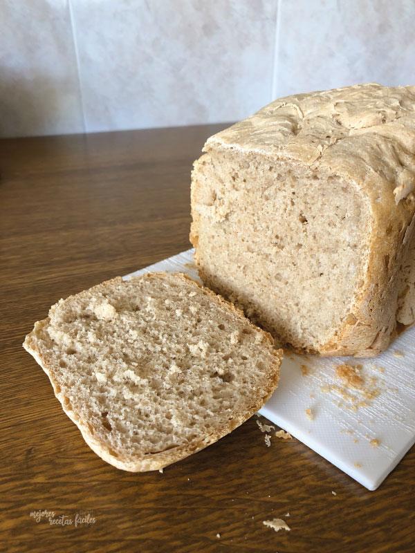pan con masa madre en polvo