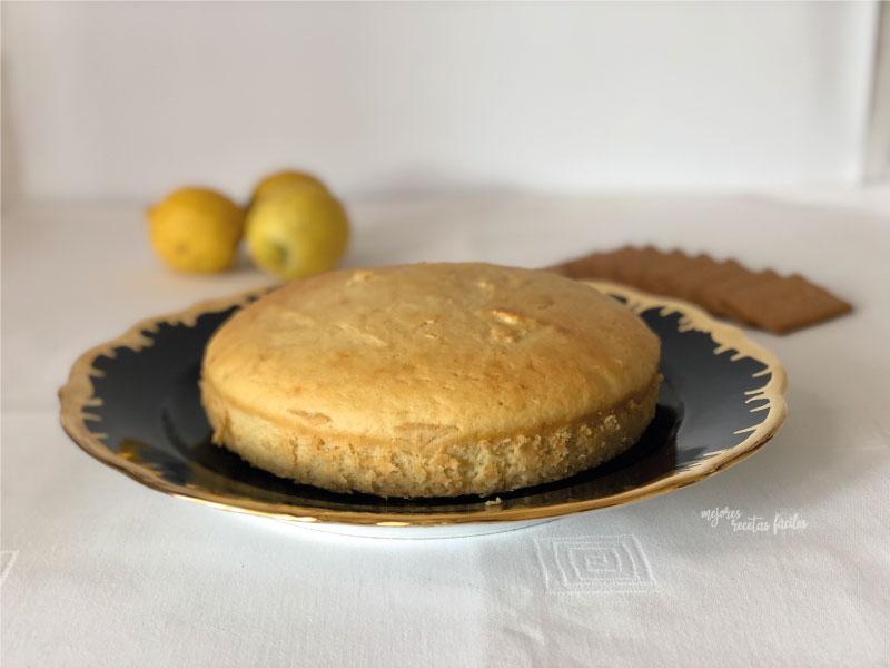 bizcocho de queso quark y limón