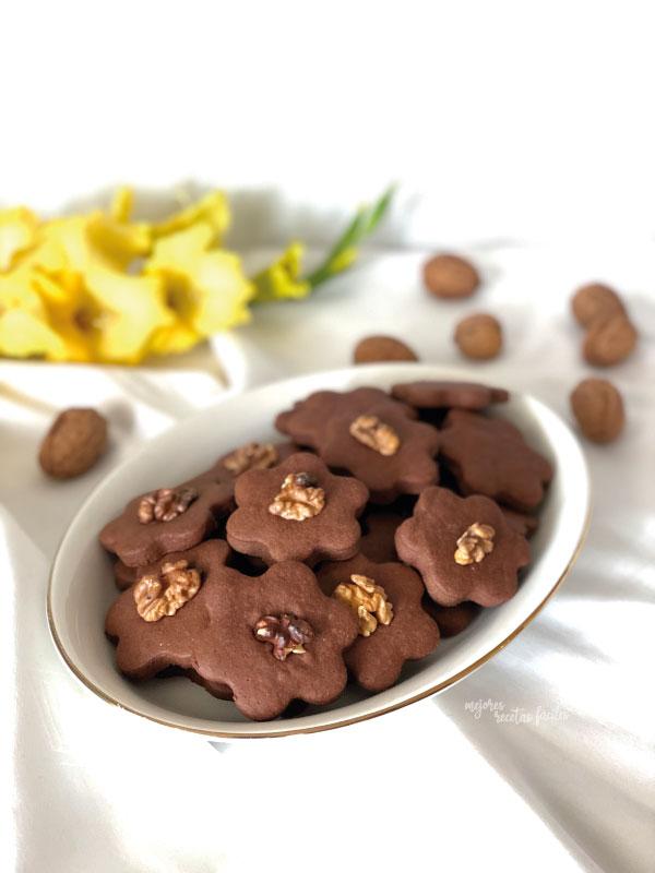 galletas de mascarpone y cacao