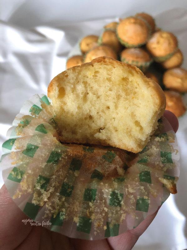 madalenas esponjosas