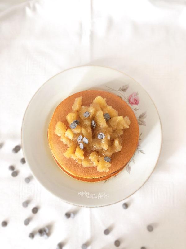 tortitas de queso quark