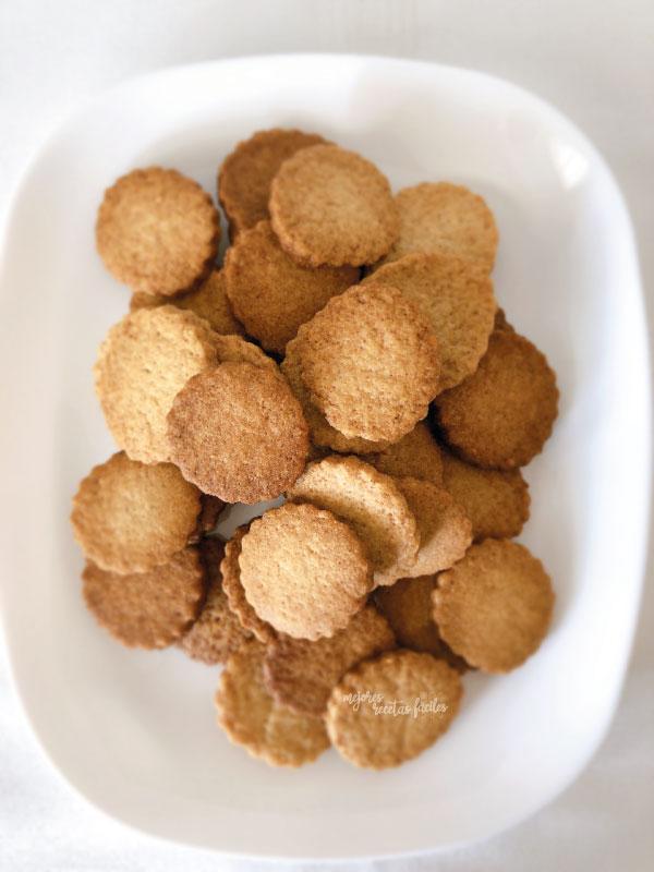 galletas de mantequilla y canela