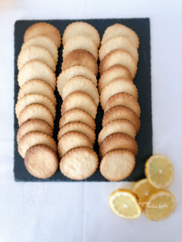 galletas de mascarpone y limón