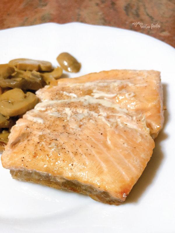 salmón en cecofry