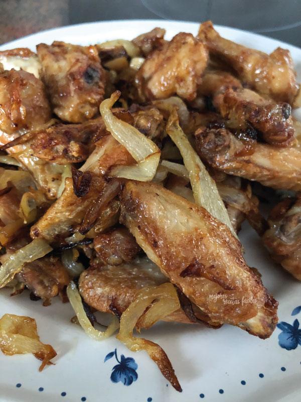 alas de pollo en cecofry