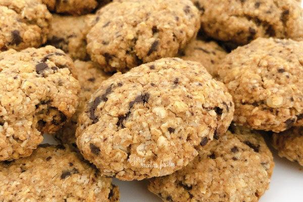 Cookies de avena y almendra (6 unidades grandes ó 12 pequeñas)